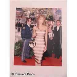 Tyra Banks Autographed Color Photo Movie Props