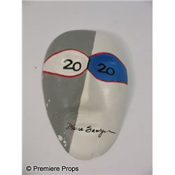 Diane Sawyer Original Hand Painted and Signed Mask
