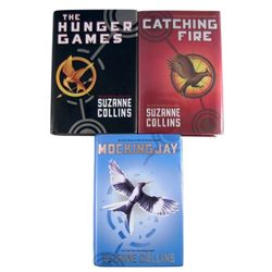 Hunger Games Set Of All Three Novels  Suzanne Collins Signed 1st Printing 1st Edition