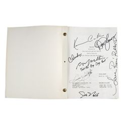 Tin Cup - Production Screenplay Autographed By Lead Cast & Crew