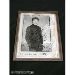 Lionel Richie Signed Photo Movie Props