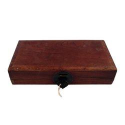 Kill Bill Vol. 2 Wood Box Movie Props