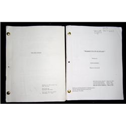 The Good Mother Original Production Screenplay Movie Props