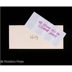 P.S. I Love You Holly (Hilary Swank) Note Movie Props