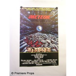 Meteor One Sheet Poster Movie Props