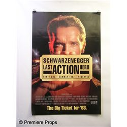 Last Action Hero Sheet Poster Movie Props