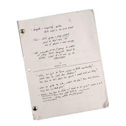 X-Men Origins Rare First Draft Screenplay With Studio Executive Notes