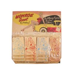Monroe Scent Cards & Display (circa 1954)
