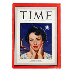 Elizabeth Taylor Original Time Magazine (August 1949)