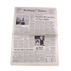 Big Eyes Newspaper Movie Props