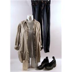 Transcendence Evelyn (Rebecca Hall) Hero Movie Costumes