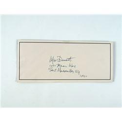 Oldboy Joe (Josh Brolin) Written Note Movie Props