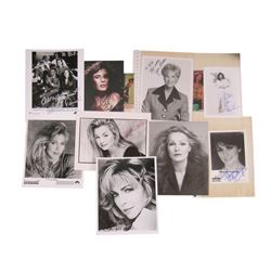 Classic TV Personality Signed Photos: Arsenio Hall, Carol Alt, Joan Lunden, Kathie Lee Gifford, Lezz