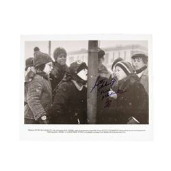 A Christmas Story Tongue Frozen On Pole Photo Signed By Flick (Scott Schwartz)