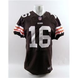 Draft Day Cleveland Browns #16 Jersey Movie Costumes