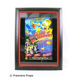 The Simpsons Framed Giclee