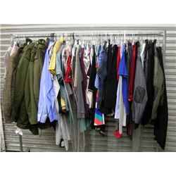 Clothing Rack of Extra Character Movie Costumes