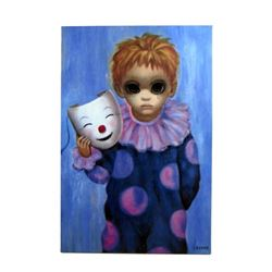 Big Eyes Margaret Keane (Amy Adams) Painting Movie Props