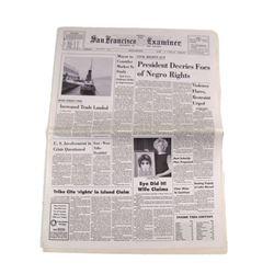 Big Eyes 'Eye' Did It! Newspaper Movie Props