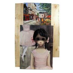 Big Eyes Margaret Keane (Amy Adams) Painting Movie Props