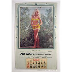 Pin Up Refreshing 1974 Calendar