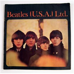 Beatles US Tour Program