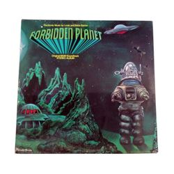 Forbidden Planet Original Planet Records Louis & Bebe Barron Soundtrack Album