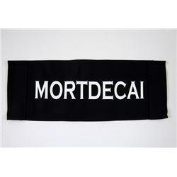 Mortdecai (Johnny Depp) Chair Back
