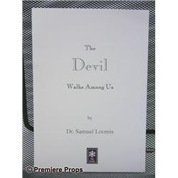 Halloween 2 The Devil Walks Among Us Book Movie Props