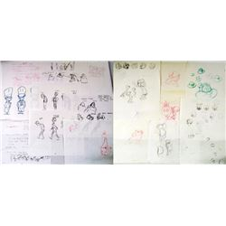 Animaniacs Production Drawings