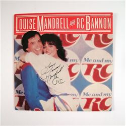 Louise Mandrell/ RC Bannon Signed Record
