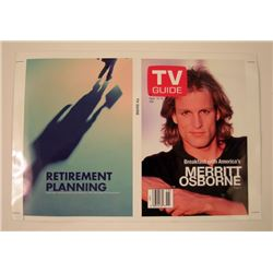 Now You See Me Merritt (Woody Harrelson) TV Guide Movie Props