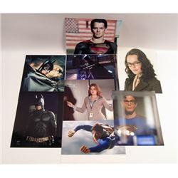 DC Comic Feature Film Photo Set - Man Of Steel/Batman