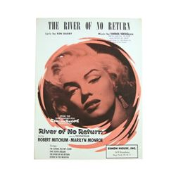 Marilyn Monroe River Of No Return Original Sheet Music