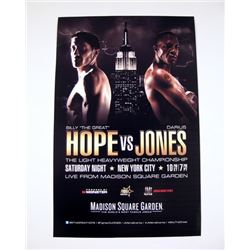 Southpaw Madison Square Garden Poster Movie Props