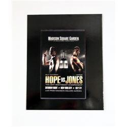 Southpaw Madison Square Garden Media Folder Movie Props