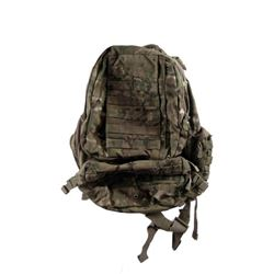 Falling Skies Anthony (Mpho Koaho) Camouflage Backpack Movie Props