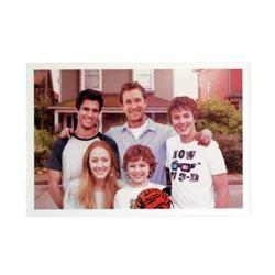 Falling Skies Season 5 Tom Mason (Noah Wyle's) Pre-Apocalypse Family Photo Movie Props