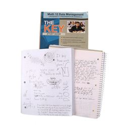 Falling Skies Matt Mason (Maxim Knight)School Notebook with Doodles Movie Props