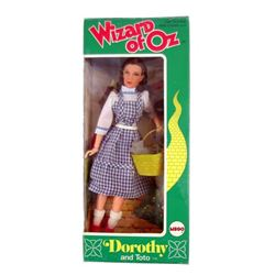 Wizard of Oz Dorothy & Toto Mego 1974 Doll In Original Box