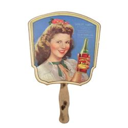 Shirley Temple I'll Be Seeing You Promo Hand-Fan