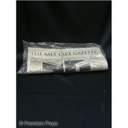 The Stepfather Newspaper Movie Props