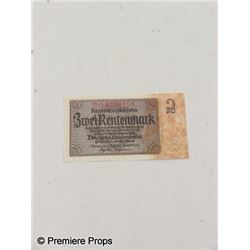 Inglorious Basterds German Currency Movie Props