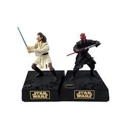 Star Wars Darth Maul & Qui-Gon Jinn Toys