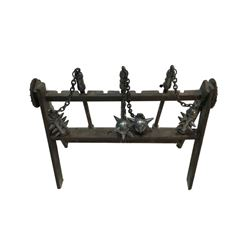 National Treasure Treasure Room Artifacts: Medieval Flails