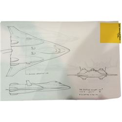 Fantastic Four Shuttle Concept Drawings