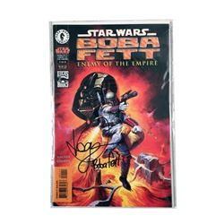 Star Wars Boba Fett Autographed Comic Book