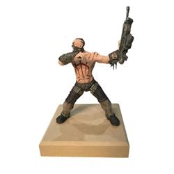 """Bulletstorm """"Last Call"""" Commercial """"Skull"""" Soldier with Scars"""