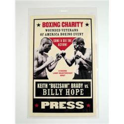 Southpaw Boxing Pass Movie Props