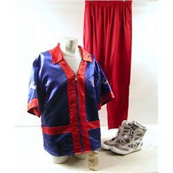 Southpaw Darius Cornerman #2 ( Kamil Beale) Movie Costumes